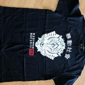 Black Riot Society t shirt XL